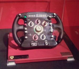 A modern F1 Steering Wheel. Source Wikimedia