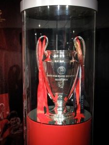 Liverpool's European Cup. Photo credit Wikimedia Commons