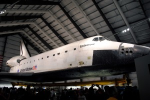 NASA Space Shuttle Endeavour. Photo Credit FastLizard4