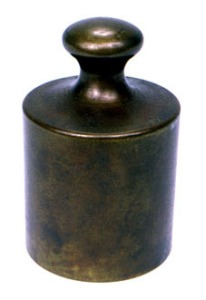 Grave Kilogram Standard 1793. Photo Credit Wikimedia Commons