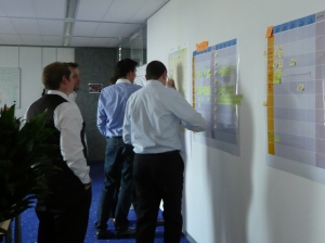 Planboard Planning. Photo Credit: Wikimedia Commons