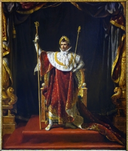 Portrait of Napoleon Bonaparte with Imperial Outfit